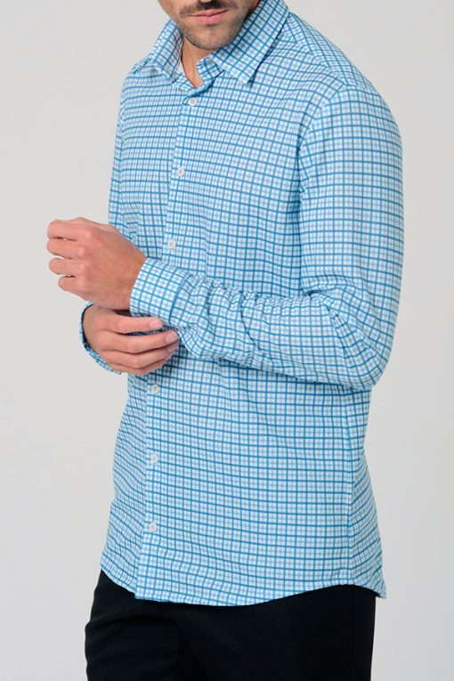 CAMISA CUADROS GRANDES MEDIUM FIT